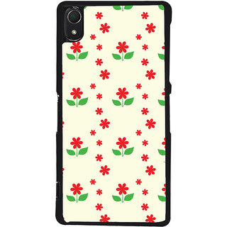 Ayaashii Floral Pattern Back Case Cover for Sony Xperia Z2::Sony Xperia Z2 L50W D6502 D6503