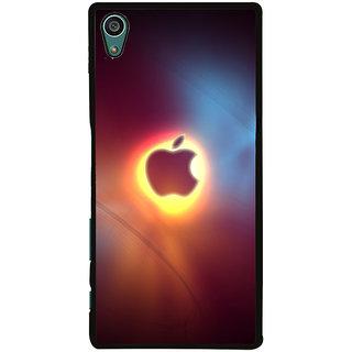 Ayaashii Blur Apple Logo Back Case Cover for Sony Xperia Z5::Sony Xperia Z5 Dual::Sony Xperia Z5 Premium