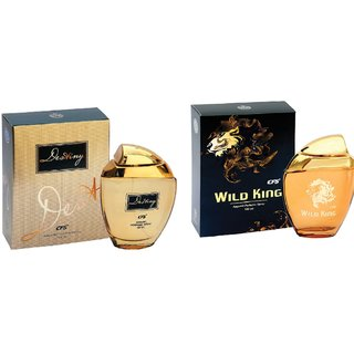CFS Exotic Destiny Gold And Wild King Combo Perfume 200ML