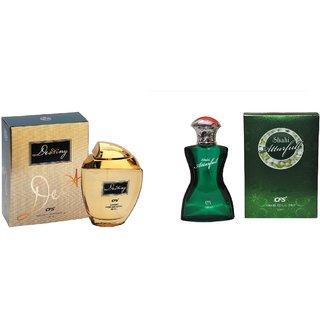 CFS Exotic Destiny Gold And  Floral Sahi Attarfull Mogra Combo Perfume 200ML
