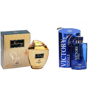CFS Exotic Destiny Gold And Victory Totale Combo Perfume 200ML
