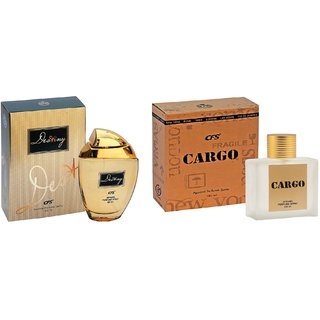CFS Exotic Destiny Gold And Cargo Brown Combo Perfume 200ML