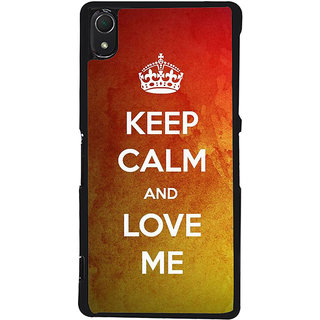 Ayaashii Love Me Back Case Cover for Sony Xperia Z3::Sony Xperia Z3 D6653 D6603