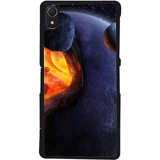 Ayaashii Space Pic Back Case Cover for Sony Xperia Z3::Sony Xperia Z3 D6653 D6603