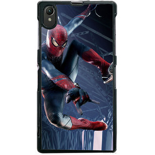 Ayaashii Ultimate Star Spiderman Back Case Cover for Sony Xperia Z1::Sony Xperia Z1 L39h