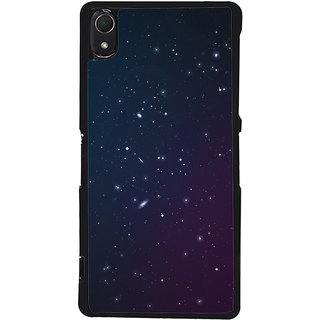 Ayaashii Stars Pattern Back Case Cover for Sony Xperia Z3::Sony Xperia Z3 D6653 D6603