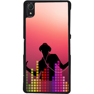 Ayaashii Music Lovers Back Case Cover for Sony Xperia Z3::Sony Xperia Z3 D6653 D6603