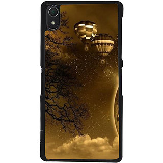 Ayaashii Paracutes Back Case Cover for Sony Xperia Z3::Sony Xperia Z3 D6653 D6603