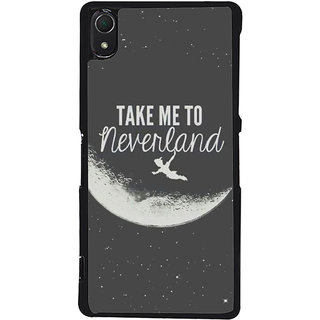Ayaashii Take Me To Neverland Back Case Cover for Sony Xperia Z3::Sony Xperia Z3 D6653 D6603