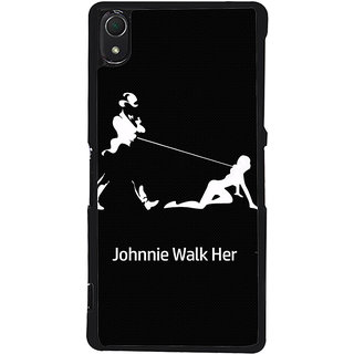 Ayaashii Johnnie Walk Here Back Case Cover for Sony Xperia Z2::Sony Xperia Z2 L50W D6502 D6503