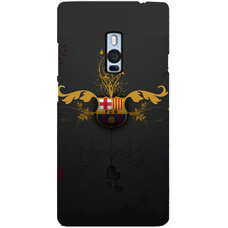 Ayaashii FCB Symbol Back Case Cover for One Plus Two::One Plus 2::One+2