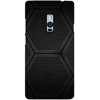Ayaashii Hexagoan Pattern Back Case Cover for One Plus Two::One Plus 2::One+2