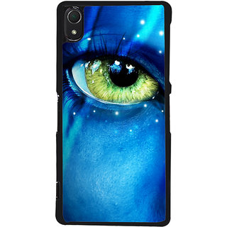 Ayaashii Dangerous Eye Back Case Cover for Sony Xperia Z2::Sony Xperia Z2 L50W D6502 D6503