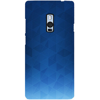 Ayaashii Blue Background Back Case Cover for One Plus Two::One Plus 2::One+2
