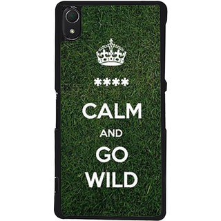 Ayaashii Go Wild Back Case Cover for Sony Xperia Z2::Sony Xperia Z2 L50W D6502 D6503