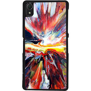 Ayaashii Abstract Colors Back Case Cover for Sony Xperia Z2::Sony Xperia Z2 L50W D6502 D6503