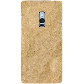 Ayaashii Brown Shaded Layer Back Case Cover for One Plus Two::One Plus 2::One+2