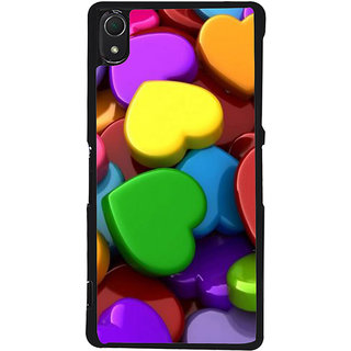 Ayaashii Colorful Dill Pattern Back Case Cover for Sony Xperia Z3::Sony Xperia Z3 D6653 D6603