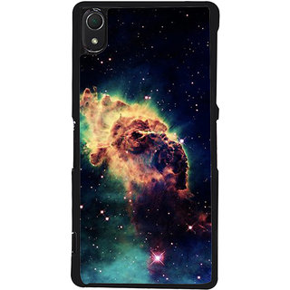 Ayaashii Space Pattern Back Case Cover for Sony Xperia Z3::Sony Xperia Z3 D6653 D6603