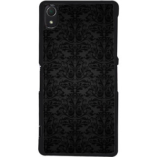 Ayaashii Floral Design Pattern Back Case Cover for Sony Xperia Z2::Sony Xperia Z2 L50W D6502 D6503