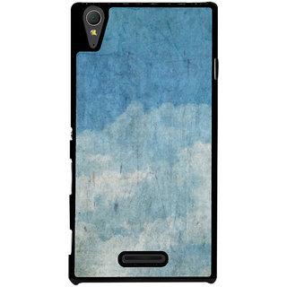 Ayaashii Old Cloud Painting Back Case Cover for Sony Xperia T3