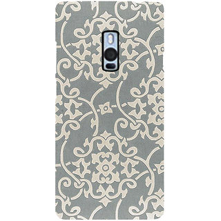Ayaashii Rangoli Pattern Back Case Cover for One Plus Two::One Plus 2::One+2