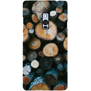 Ayaashii Tree Cut Pieces Back Case Cover for One Plus Two::One Plus 2::One+2