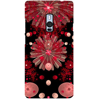 Ayaashii Animated Flowers Back Case Cover for One Plus Two::One Plus 2::One+2