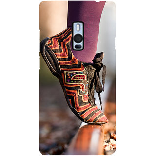 Ayaashii Trendy Shoe Back Case Cover for One Plus Two::One Plus 2::One+2