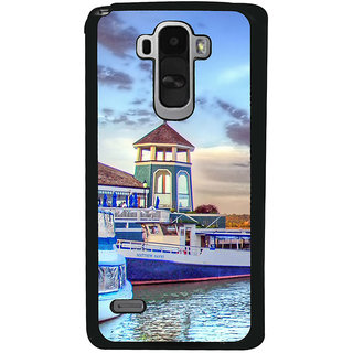 Ayaashii Light House Back Case Cover for LG G4 Stylus
