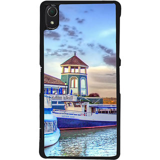 Ayaashii Light House Back Case Cover for Sony Xperia Z2::Sony Xperia Z2 L50W D6502 D6503