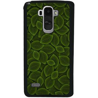 Ayaashii Leaf Pattern Back Case Cover for LG G4 Stylus