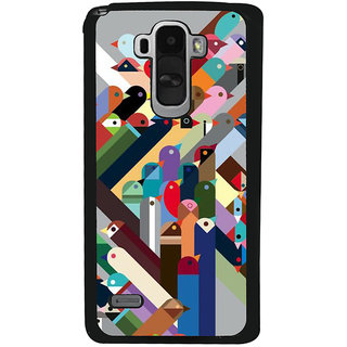Ayaashii Birds Pattern Back Case Cover for LG G4 Stylus