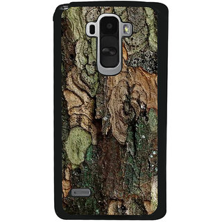 Ayaashii Colorful Tree Bark Back Case Cover for LG G4 Stylus