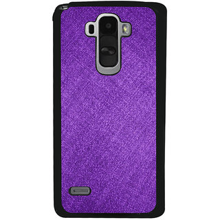Ayaashii Jeans Cloth Back Case Cover for LG G4 Stylus