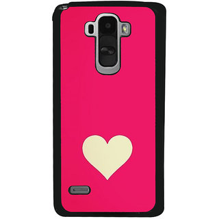 Ayaashii Love Symbol Back Case Cover for LG G4 Stylus