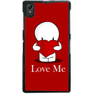 Ayaashii Love Me Back Case Cover for Sony Xperia Z1::Sony Xperia Z1 L39h