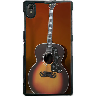 Ayaashii Classical Guitar Back Case Cover for Sony Xperia Z1::Sony Xperia Z1 L39h