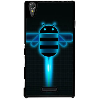 Ayaashii Flying Android Back Case Cover for Sony Xperia T3