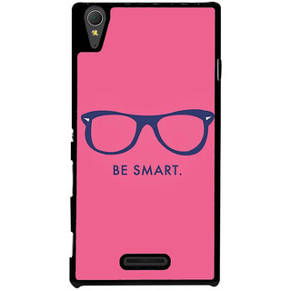 Ayaashii Be Smart Back Case Cover for Sony Xperia T3