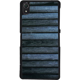 Ayaashii Wooded Layered Pattern Back Case Cover for Sony Xperia Z2::Sony Xperia Z2 L50W D6502 D6503