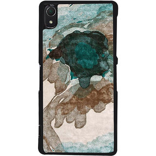 Ayaashii Color Spread Back Case Cover for Sony Xperia Z3::Sony Xperia Z3 D6653 D6603