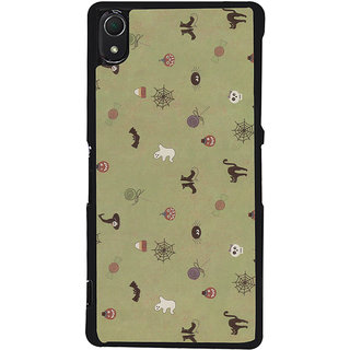 Ayaashii Animal And Insects Pattern Back Case Cover for Sony Xperia Z2::Sony Xperia Z2 L50W D6502 D6503
