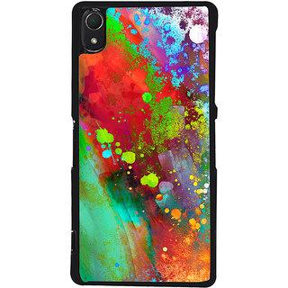 Ayaashii Colorful Painting Back Case Cover for Sony Xperia Z2::Sony Xperia Z2 L50W D6502 D6503