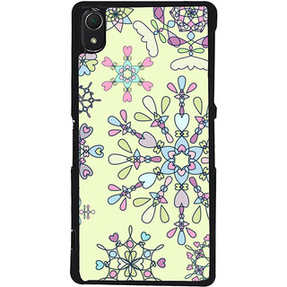 Ayaashii Rangoli Pattern Back Case Cover for Sony Xperia Z3::Sony Xperia Z3 D6653 D6603