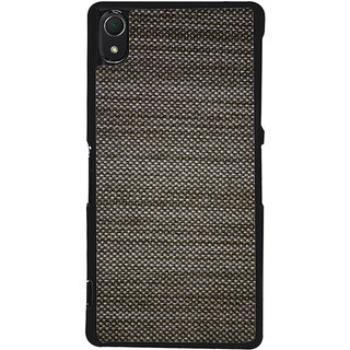 Ayaashii Black Jeans Back Case Cover for Sony Xperia Z3::Sony Xperia Z3 D6653 D6603