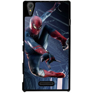 Ayaashii Ultimate Star Spiderman Back Case Cover for Sony Xperia T3