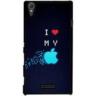 Ayaashii I Love My Back Case Cover for Sony Xperia T3