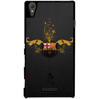 Ayaashii FCB Symbol Back Case Cover for Sony Xperia T3