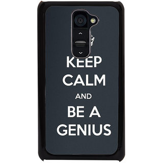 Ayaashii Be A Genius Back Case Cover for LG G2::LG G2 D800 D980